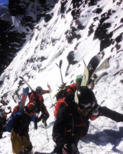 "My first ""Patrouille des Glaciers"""