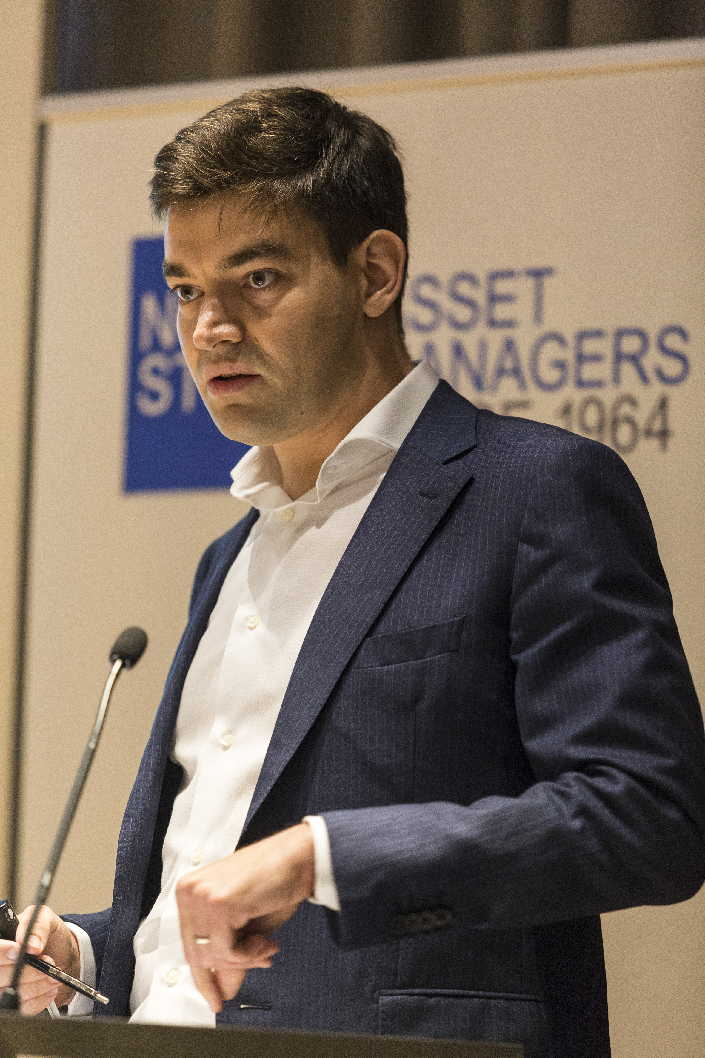 Grégoire Dooms from Systematica Investments