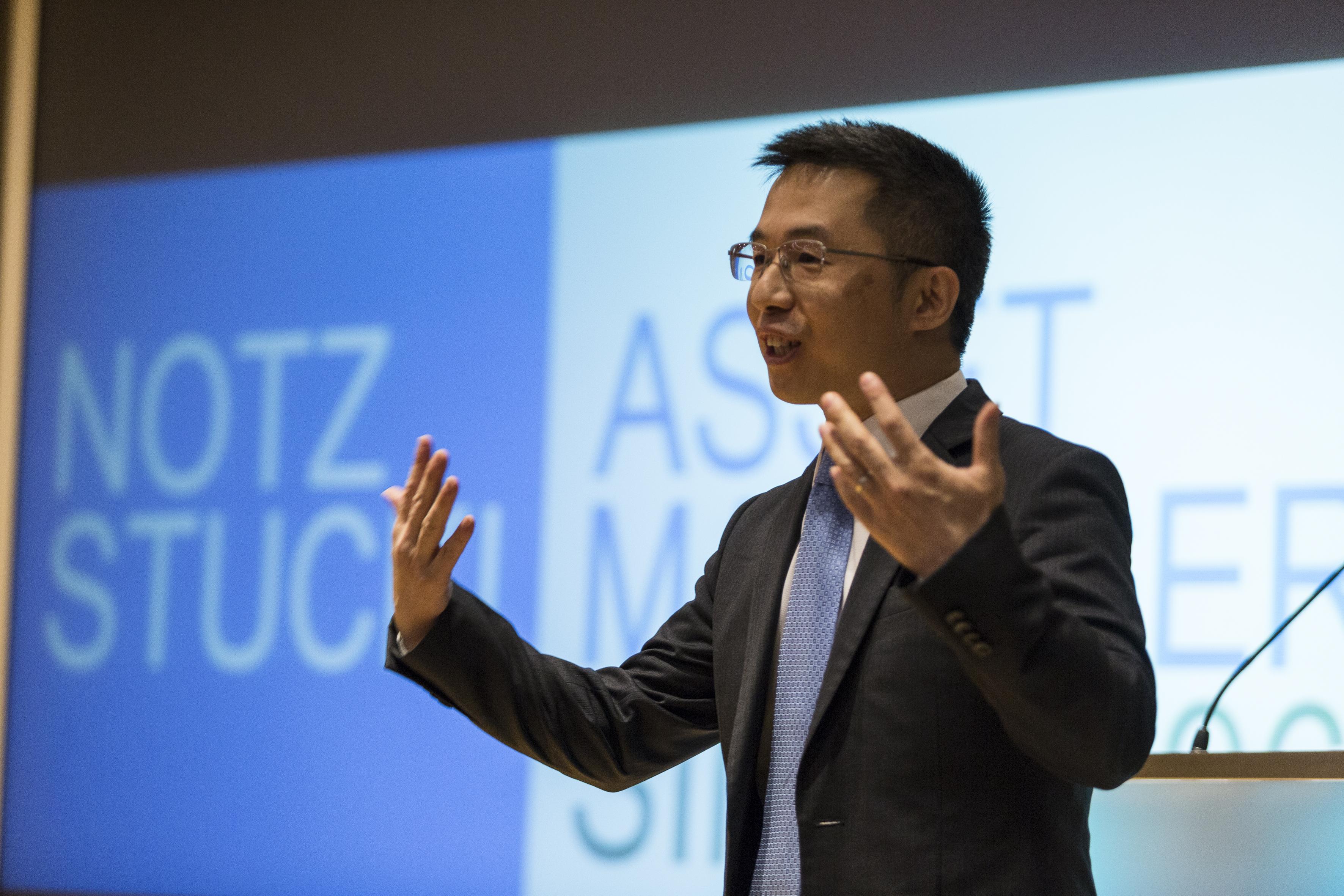 Ronald Chan from Zeal Asset Management