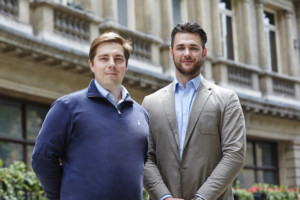 Delio co-founders: Gareth Lewis and David Newman